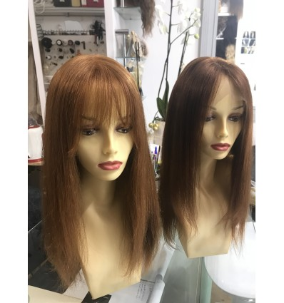 Ginger Front e Full lace wig