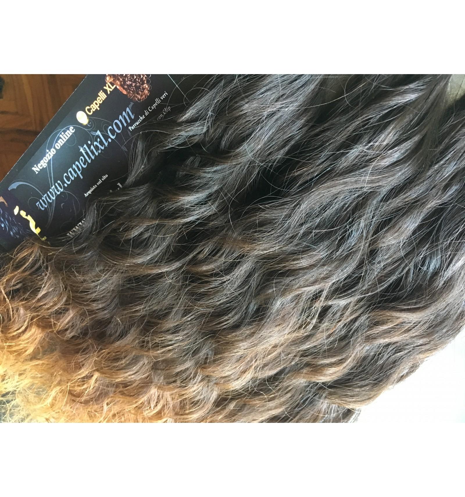 Si possono tingere le extension di capelli veri