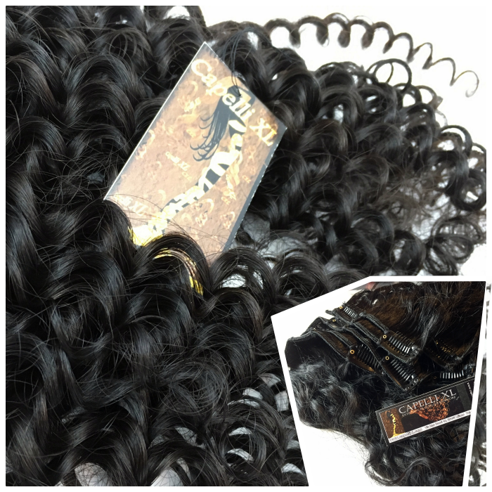 Extension Allungamento capelli veri Fascia unica, Capelli veri remy di qualità Superiore Extension con clip Capelli umani