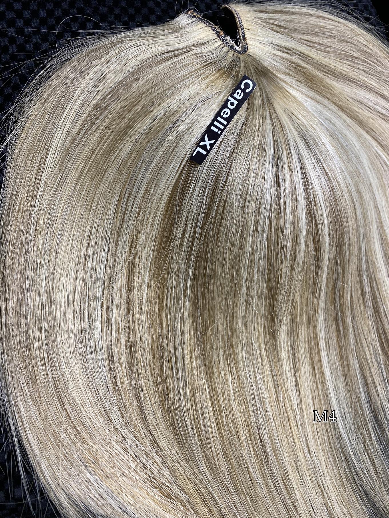 Toupet + Closure capelli veri remy di origine Europea calotta da usare anche con biadesivo tape Anche su misura
