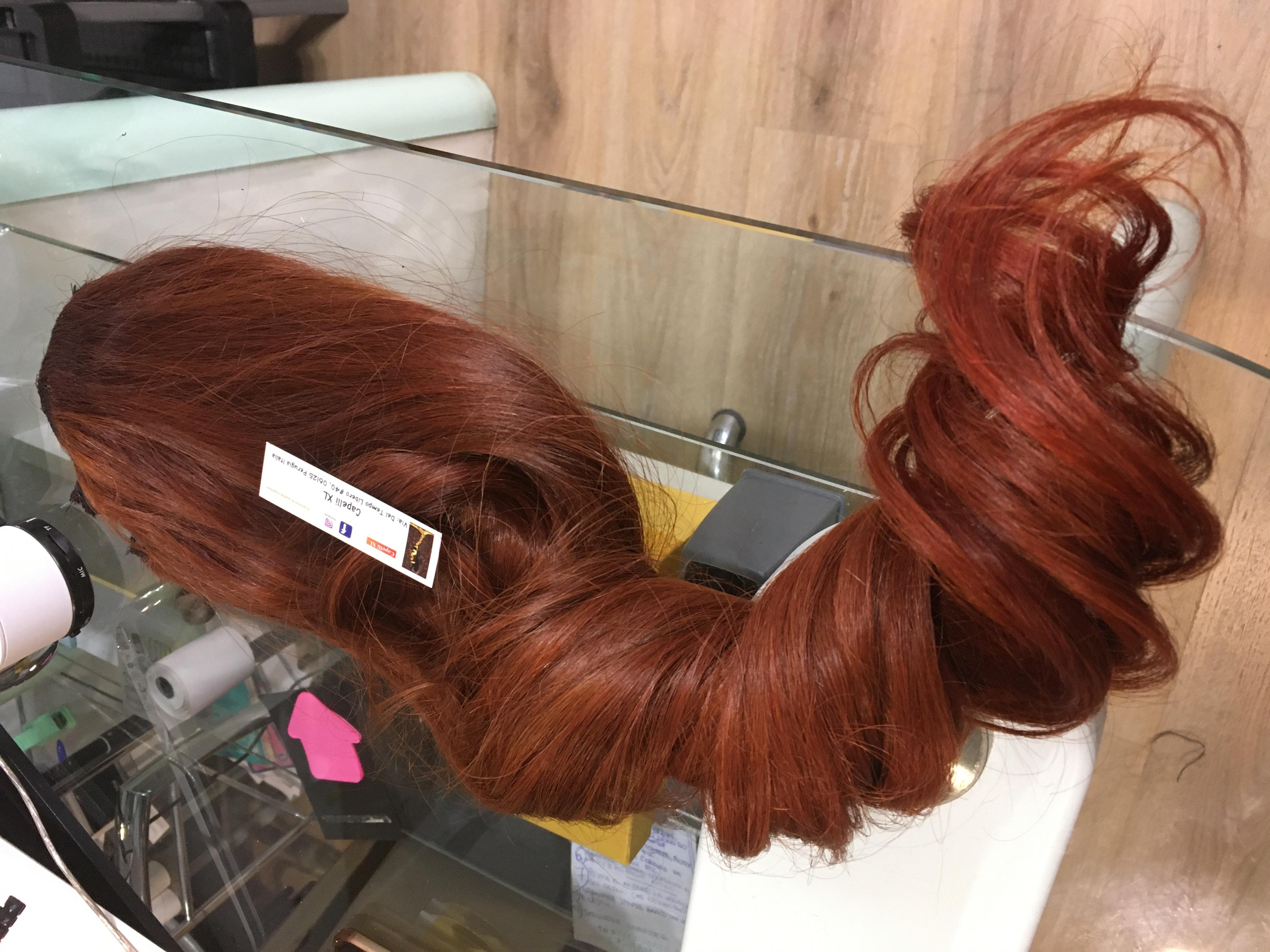 Extension varie fasce o Fascia unica con clip capelli veri