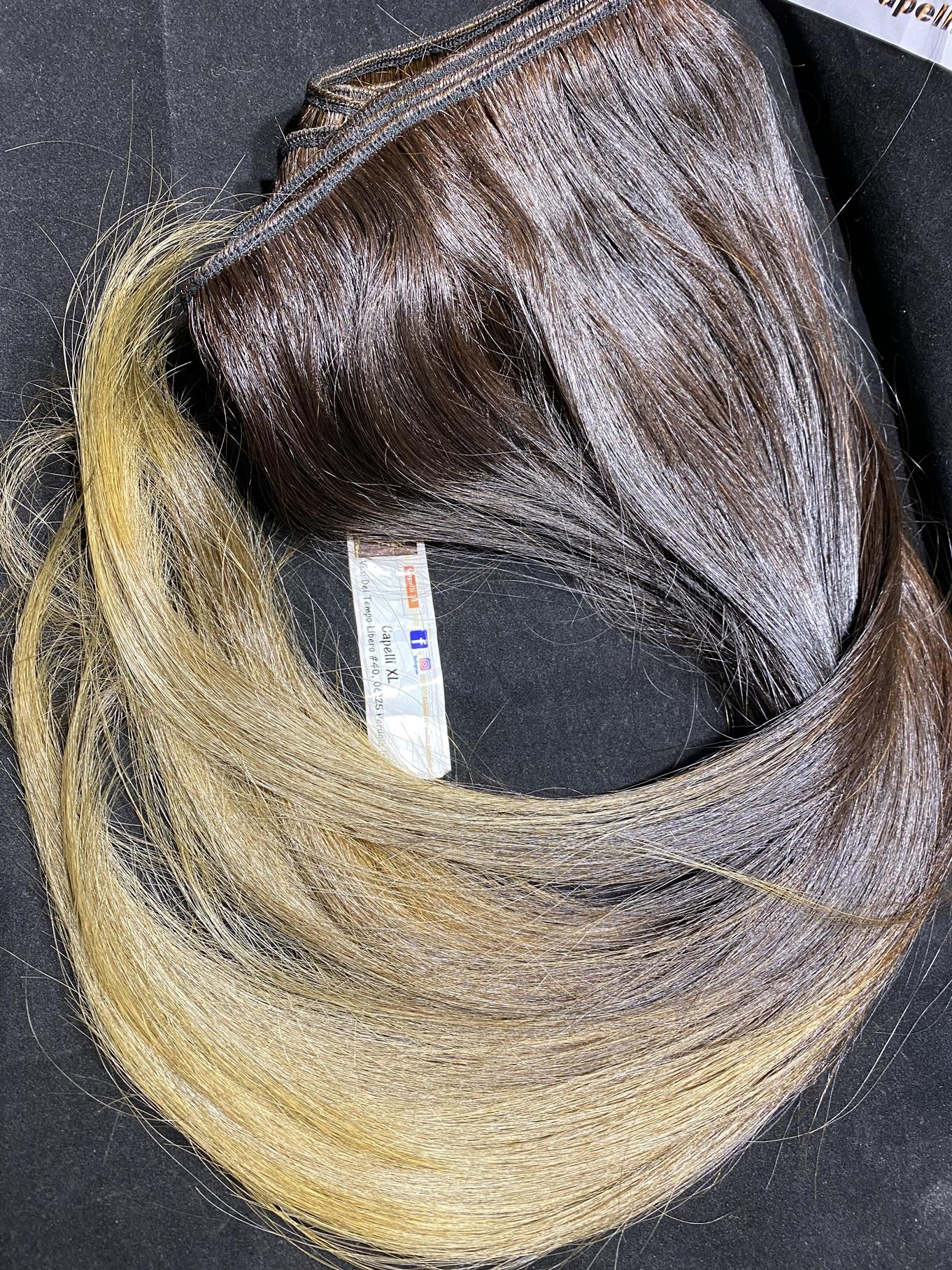 Capelli veri remy indiani colore Sfumato Shatush L3