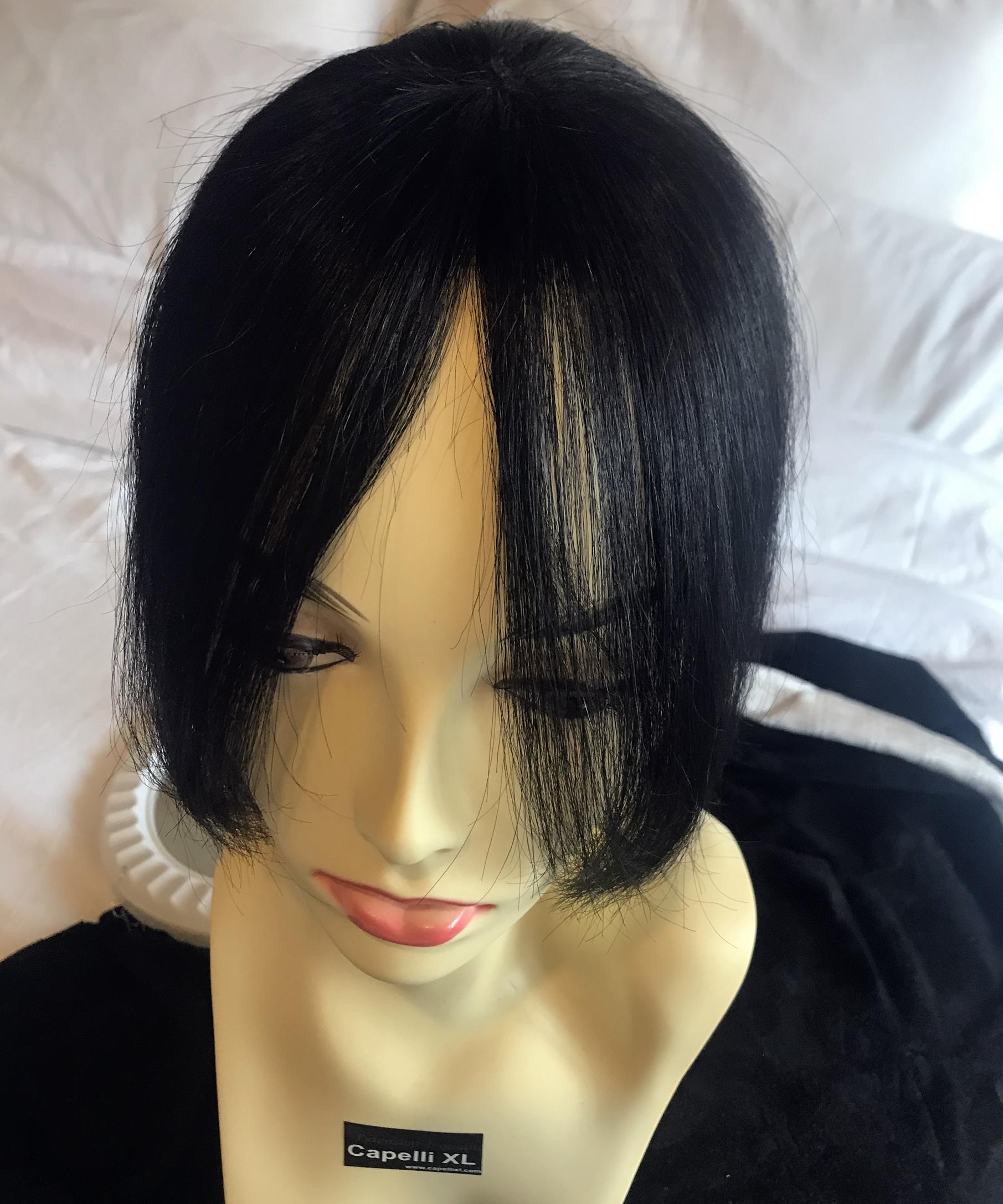 Toupet frangetta, Ciuffo, la soluzione ideale per nascondere ricrescita, dirradamento, per fare una frangetta senza tagliare i capelli tuoi, Per cambiare look