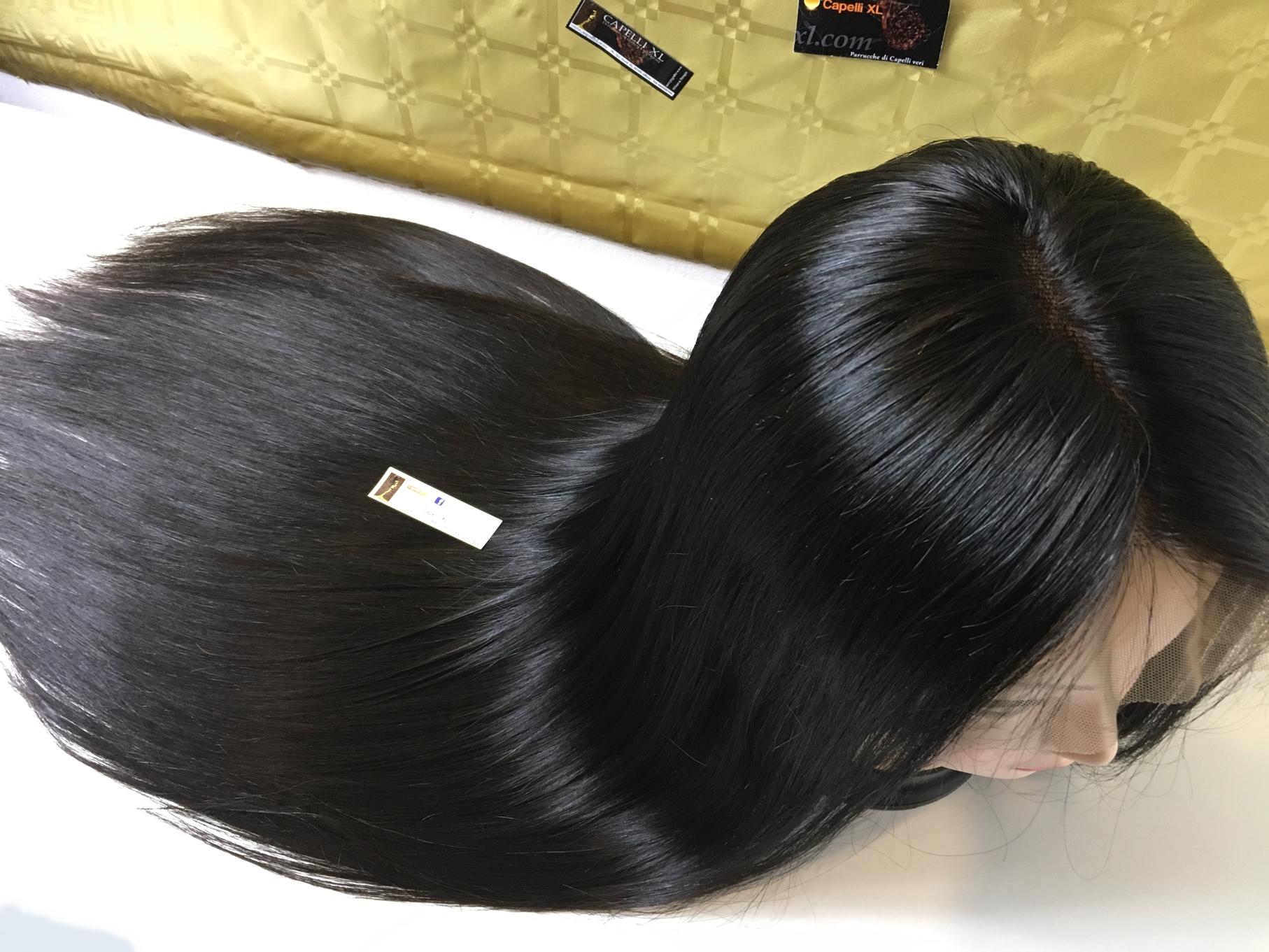 Parrucca di capelli veri full lace Fatta a mano